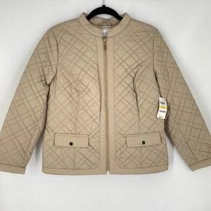 Charter Club Quilted Jacket in Sedona Dust